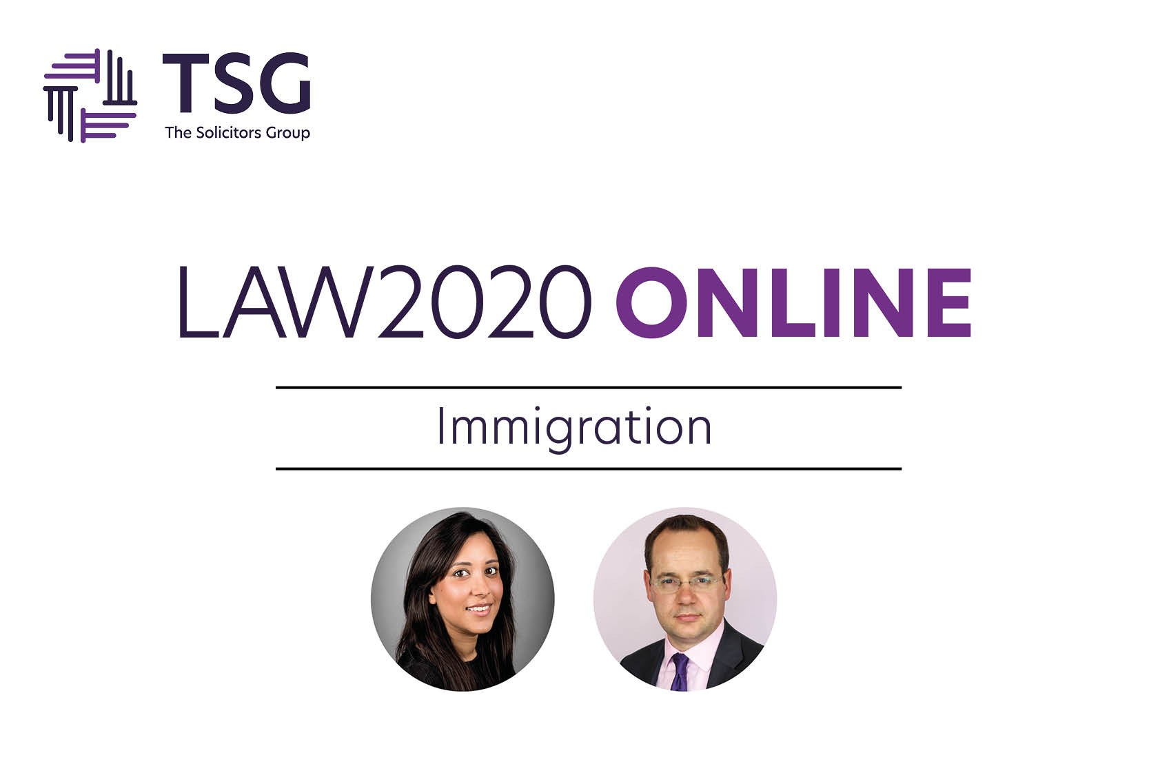 Immigration Law Event Graphic