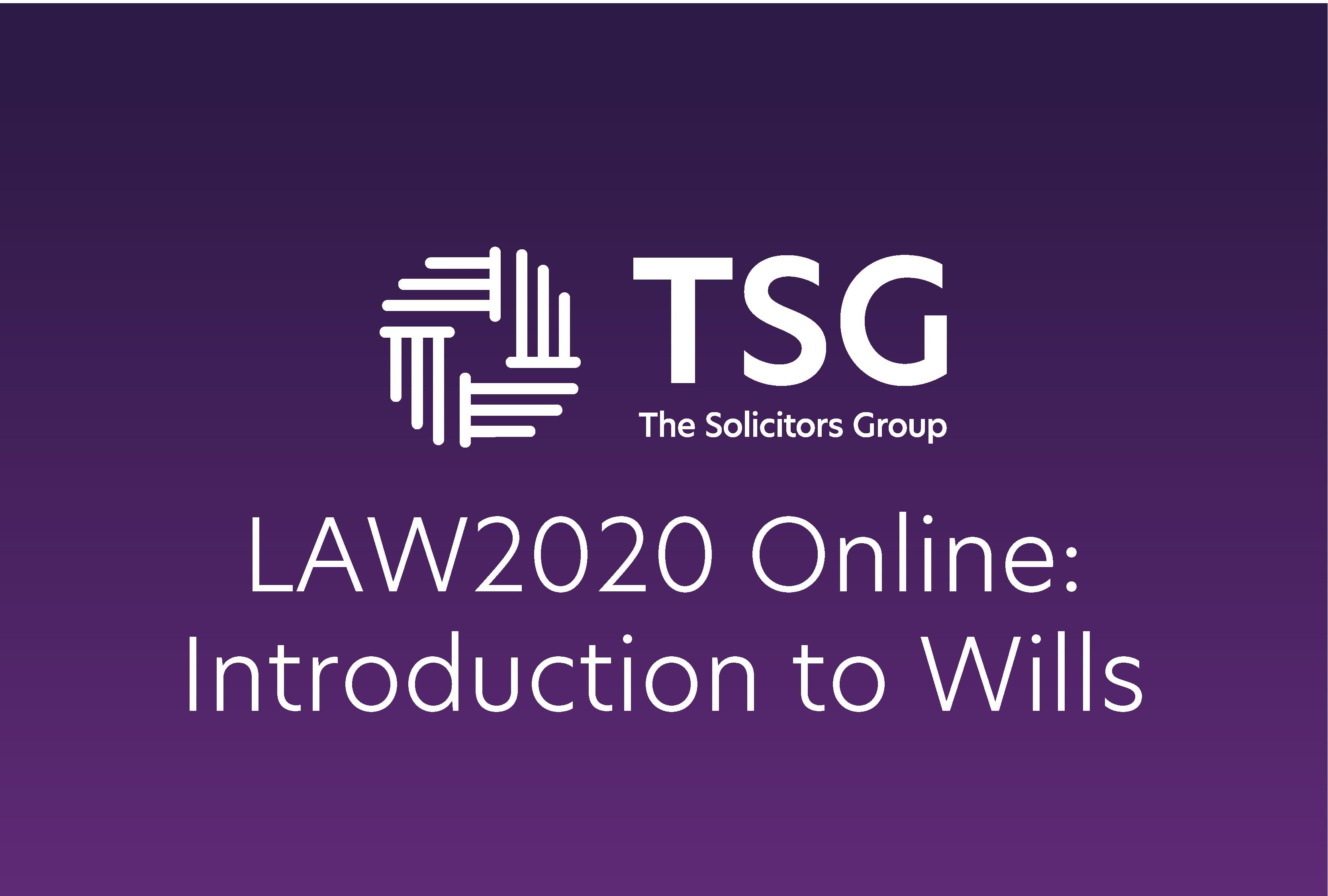 Intro to wills
