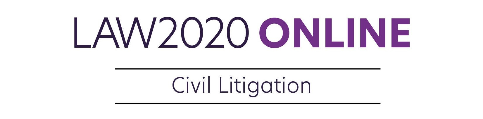 LAW2020 Online Civil Litigation