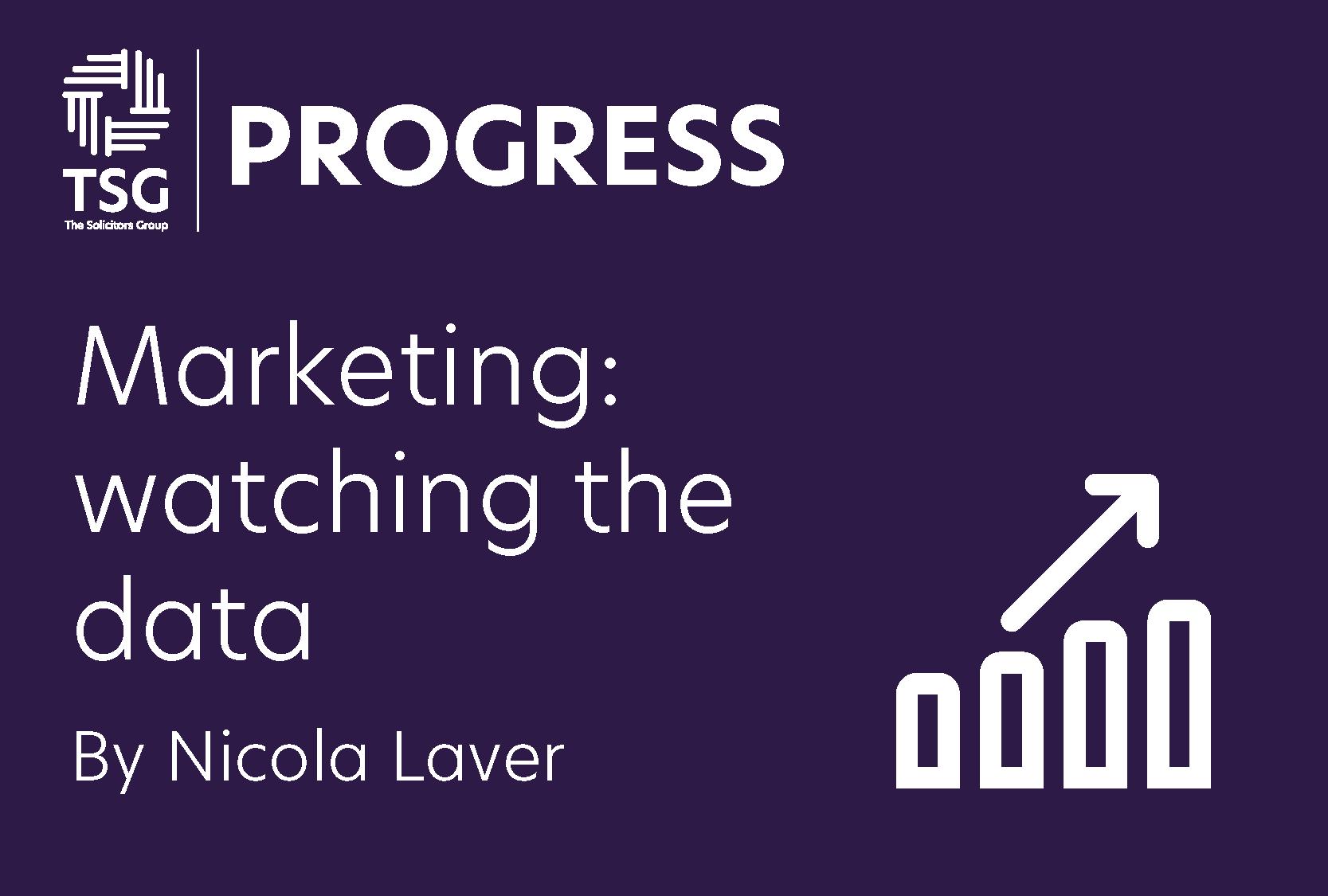 Marketing watching the data