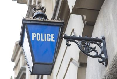 Police Station Lamp 400x270
