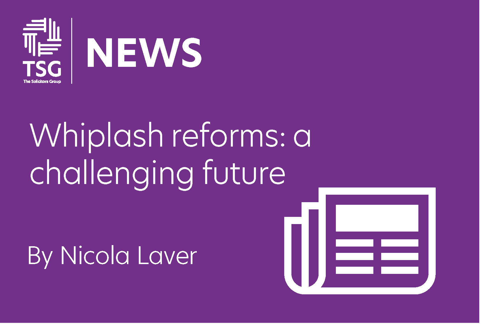 Whiplash reforms