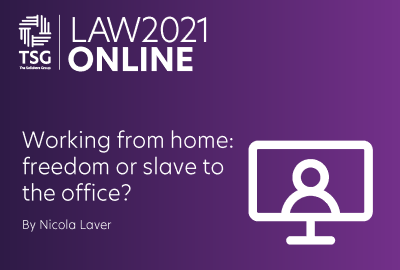 Working from home freedom or slave to the office