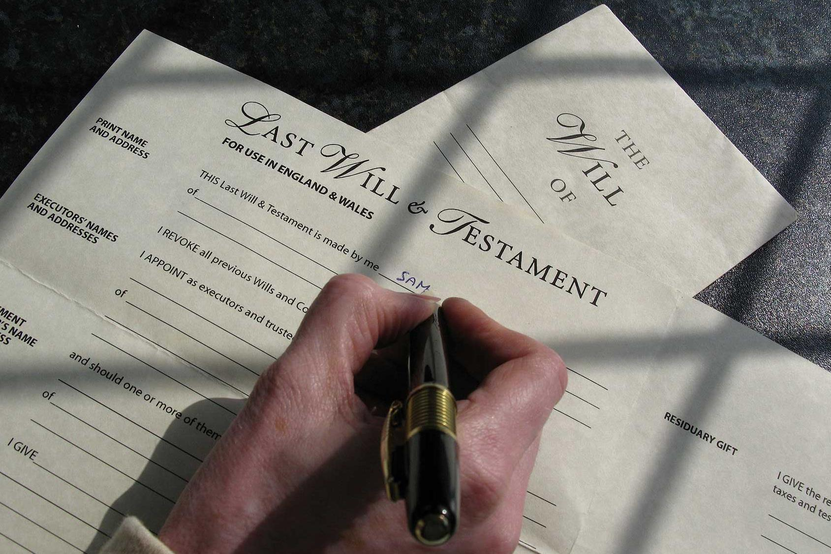 Emergency wills and executions
