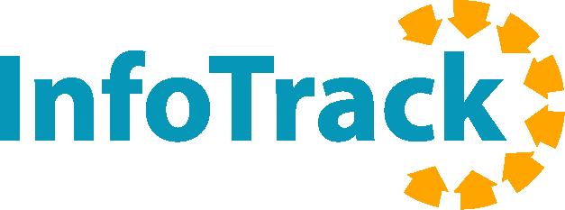 Info Track logo blue rgb