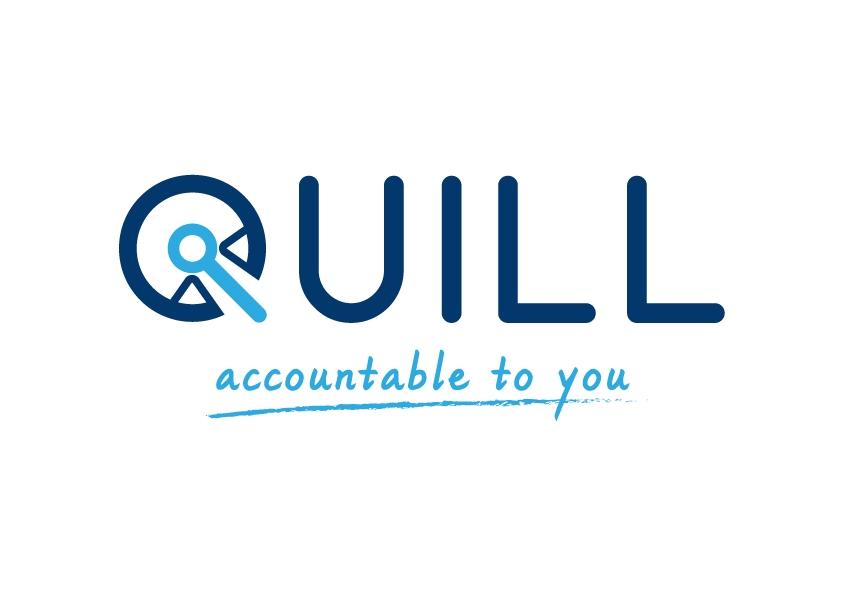 Quill Logo Strapline Colour